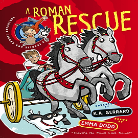 Charlie and Bandit Adventures: A Roman Rescue (Paperback) Books