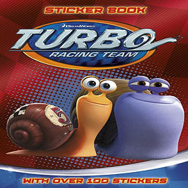 Turbo: Turbo Sticker Activity (Paperback) Books