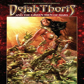 Dejah Thoris and the Green Men of Mars Volume 2: Red Flood (Paperback) Books