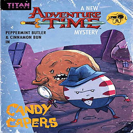 Adventure Time - Candy Capers (Paperback) Books