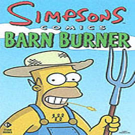Simpsons Comics Barn Burner (Paperback) Books