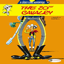 The 20th Cavalry: Lucky Luke 21 (Paperback) Books
