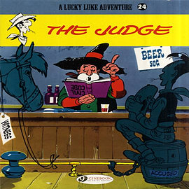 Lucky Luke Vol.24: The Judge (Lucky Luke Adventures) (Paperback) Books