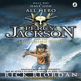 Percy Jackson and the Lightning Thief: The Graphic Novel (Paperback) Books