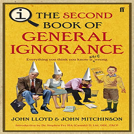 QI: The Second Book of General Ignorance (Hardcover) Books
