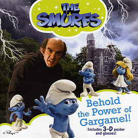 Behold the Power of Gargamel! (Smurfs) (Paperback) Books