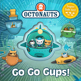 Go Go Gups!: A Super Sub Set! (Octonauts) (Board book) Books