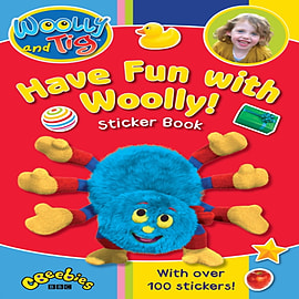 Woolly and Tig: Have Fun with Woolly Sticker Book (Woolly & Tig) (Paperback) Books