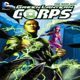Green Lantern Corps Vol. 4: Rebuild (The New 52) (Paperback) Books