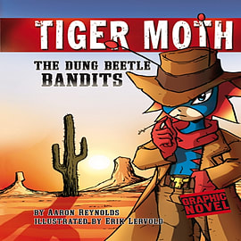 The Dung Beetle Bandits (Tiger Moth) (Hardcover) Books