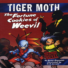 The Fortune Cookies of Weevil (Tiger Moth) (Paperback) Books
