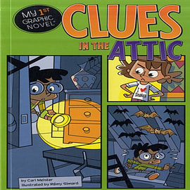 Clues in the Attic (First Graphics: My First Graphic Novel) (Paperback) Books
