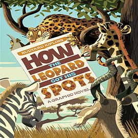 How The Leopard Got His Spots (Just So Stories) (Paperback) Books