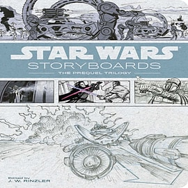 Star Wars Storyboards - The Prequel Trilogy Books