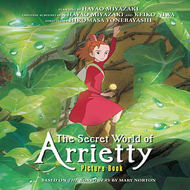 The Secret World of Arrietty Picture Book (Studio Ghibli Library) (Hardcover) Books
