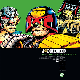 Judge Dredd: v. 23: The Complete Case Files (Paperback) Books