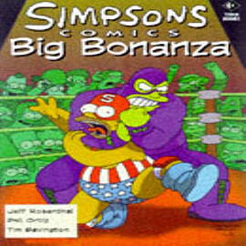 The Simpsons: Simpsons Comics Big Bonanza (Paperback) Books