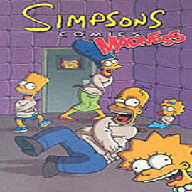 Simpsons Comics Madness (Paperback) Books
