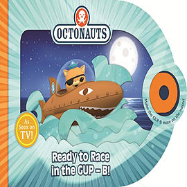Ready to Race in the Gup-b (Octonauts) (Board book) Books