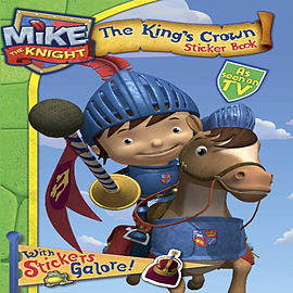 Mike the Knight Sticker Book (Paperback) Books
