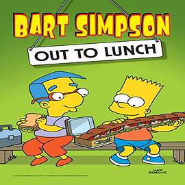 Bart Simpson - Out To Lunch (Paperback) Books