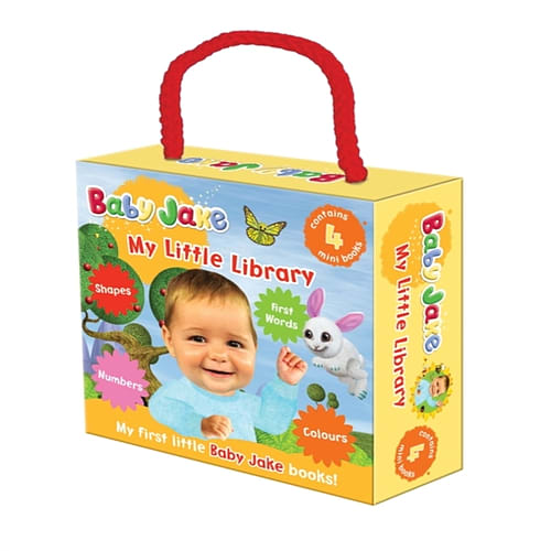 Buy Baby Jake My Little Library (Board book) | GAME