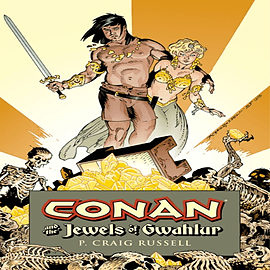 Conan and the Jewels of Gwahlur (Conan (Dark Horse Unnumbered)) (Hardcover) Books