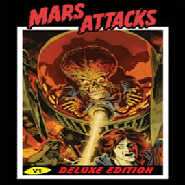 Mars Attacks Deluxe Edition (Hardcover) Books