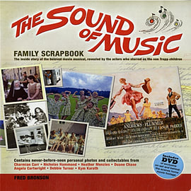 The Sound of Music Family Scrapbook (Hardcover) Books