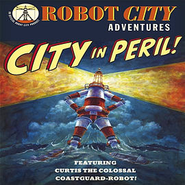 City in Peril (Robot City Adventures) (Paperback) Books