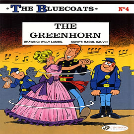 The Greenhorn: The Bluecoats Vol. 4 (Paperback) Books