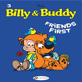 Billy & Buddy Vol.3: Friends First (Paperback) Books