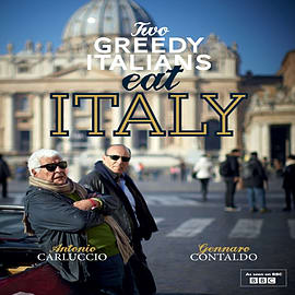 Two Greedy Italians Eat Italy (Hardcover) Books