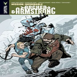 Archer & Armstrong Volume 5: Mission: Improbable TP (Paperback) Books