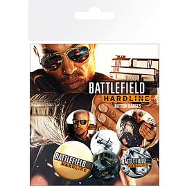 Battlefield Hardline Badge Pack Badges