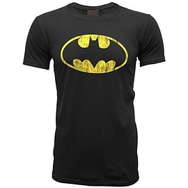 Batman Distressed Shield Double Extra Large Clothing