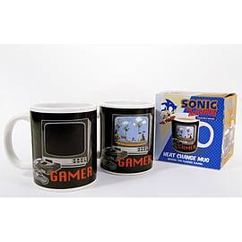 Sonic The Hedgehog Gamer Heat Change Mug Home - Tableware