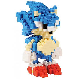 Sonic The Hedgehog Pixel Brick Sonic Figurines and Sets