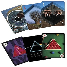Pink Floyd Back Catalogue Playing Card Set Traditional Games