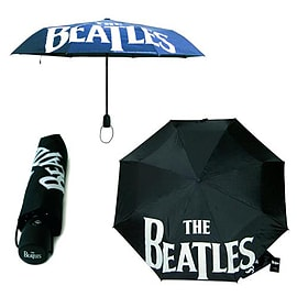 The Beatles Classic Logo Umbrella [Black] Memorabilia