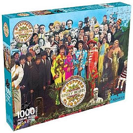 The Beatles Sgt Pepper Jigsaw Puzzle Traditional Games