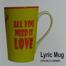 The Beatles All You Need Is Love Mug Home - Tableware