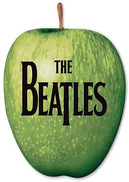 The Beatles Apple Logo Mouse Mat PC