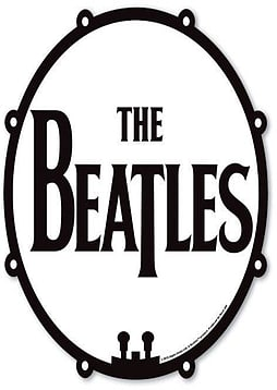 The Beatles Drum Logo Mouse Mat PC
