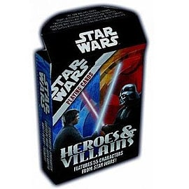 Star Wars Heroes And Villains Playing Cards Traditional Games