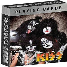Kiss Playing Card Set [Style 1] Traditional Games