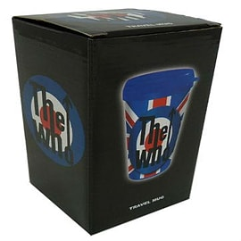 The Who Union Jack Travel Mug Home - Tableware