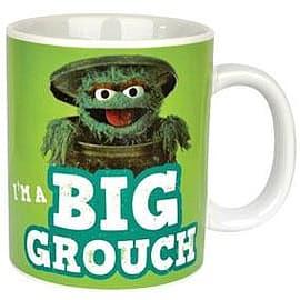 Sesame Street Oscar The Grouch Giant Mug Home - Tableware