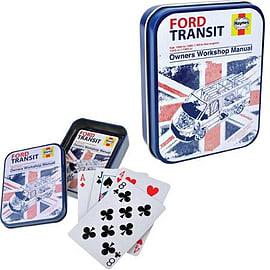 Haynes Ford Transit Playing Cards Traditional Games