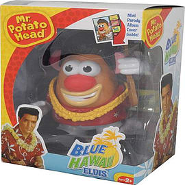 Elvis Presley Blue Hawaii Mr Potato Head Figurines and Sets